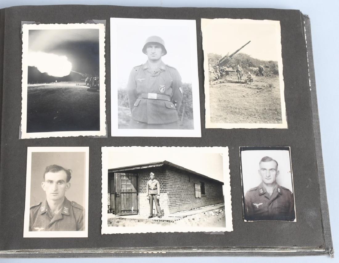 WWII NAZI GERMAN LUFTWAFFE ARTILLERY PHOTO ALBUM - 3