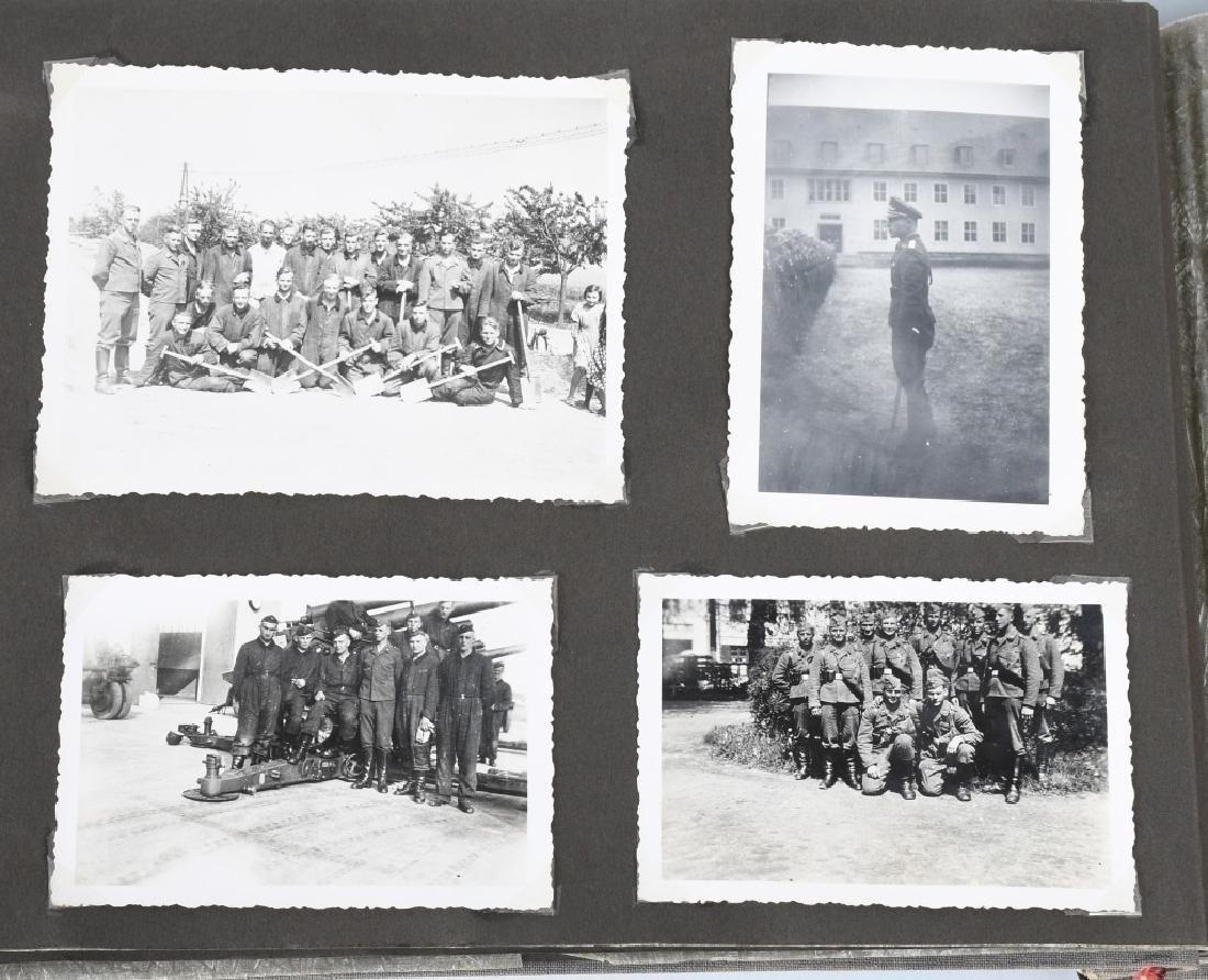 WWII NAZI GERMAN LUFTWAFFE ARTILLERY PHOTO ALBUM - 4