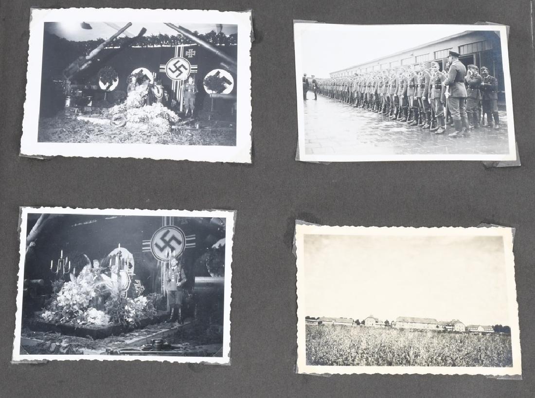 WWII NAZI GERMAN LUFTWAFFE ARTILLERY PHOTO ALBUM - 5