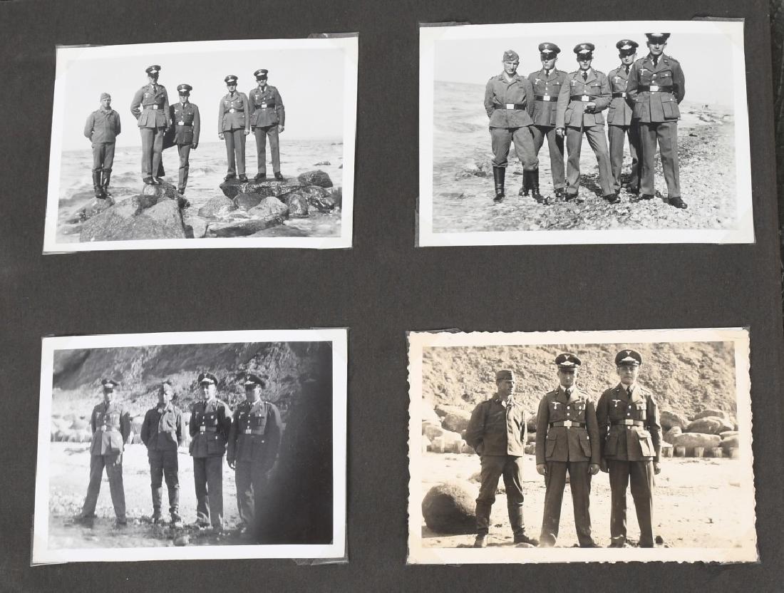 WWII NAZI GERMAN LUFTWAFFE ARTILLERY PHOTO ALBUM - 7