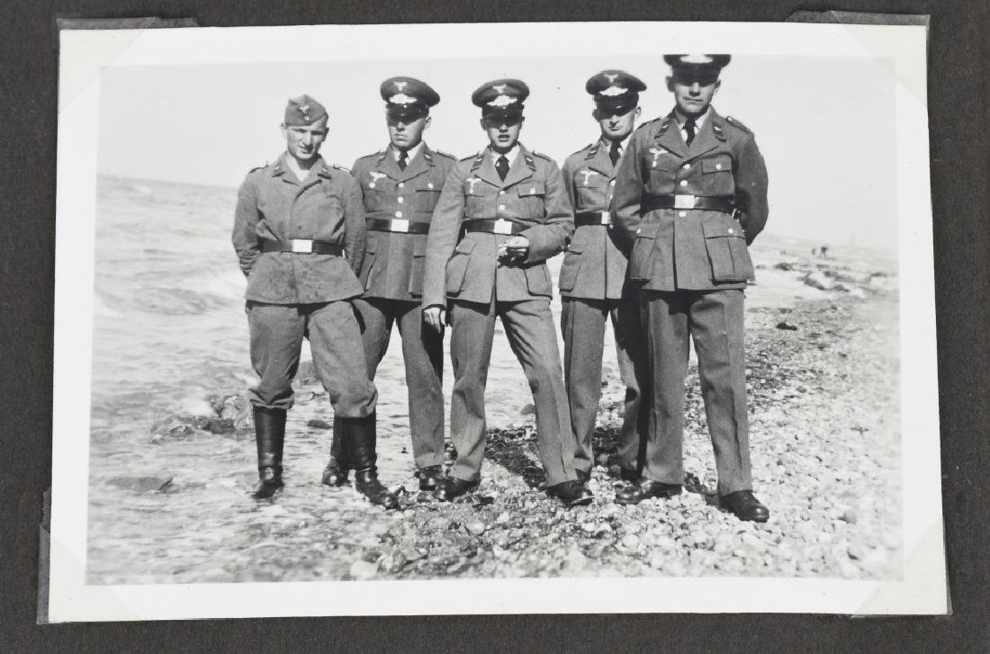 WWII NAZI GERMAN LUFTWAFFE ARTILLERY PHOTO ALBUM - 8