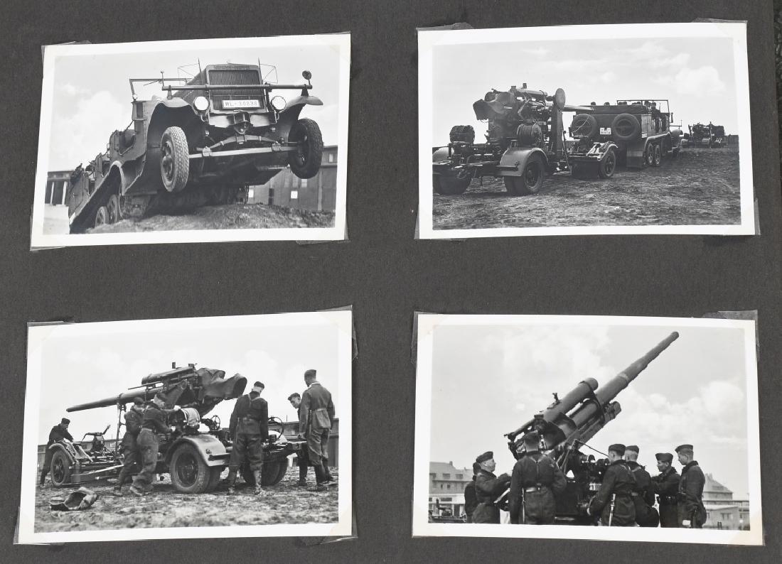 WWII NAZI GERMAN LUFTWAFFE ARTILLERY PHOTO ALBUM - 9