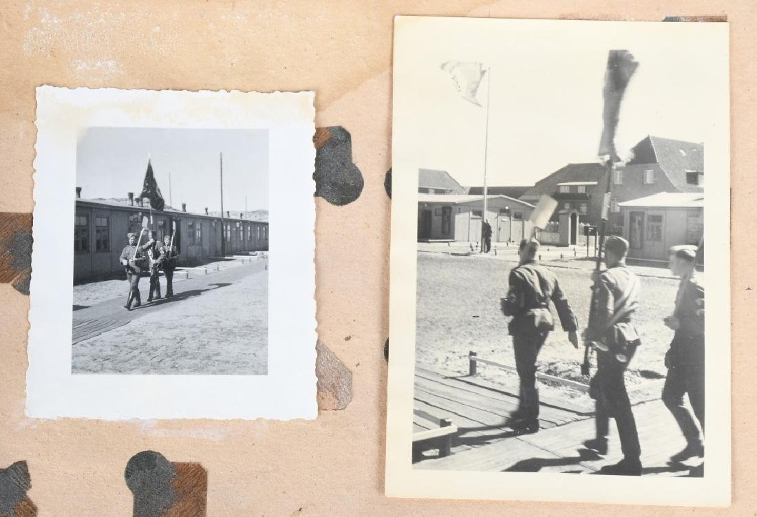 WWII NAZI GERMAN RAD PHOTOGRAPH ALBUM - 115 PHOTOS - 4