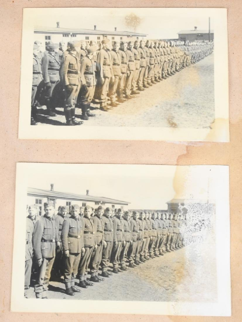 WWII NAZI GERMAN RAD PHOTOGRAPH ALBUM - 115 PHOTOS - 5