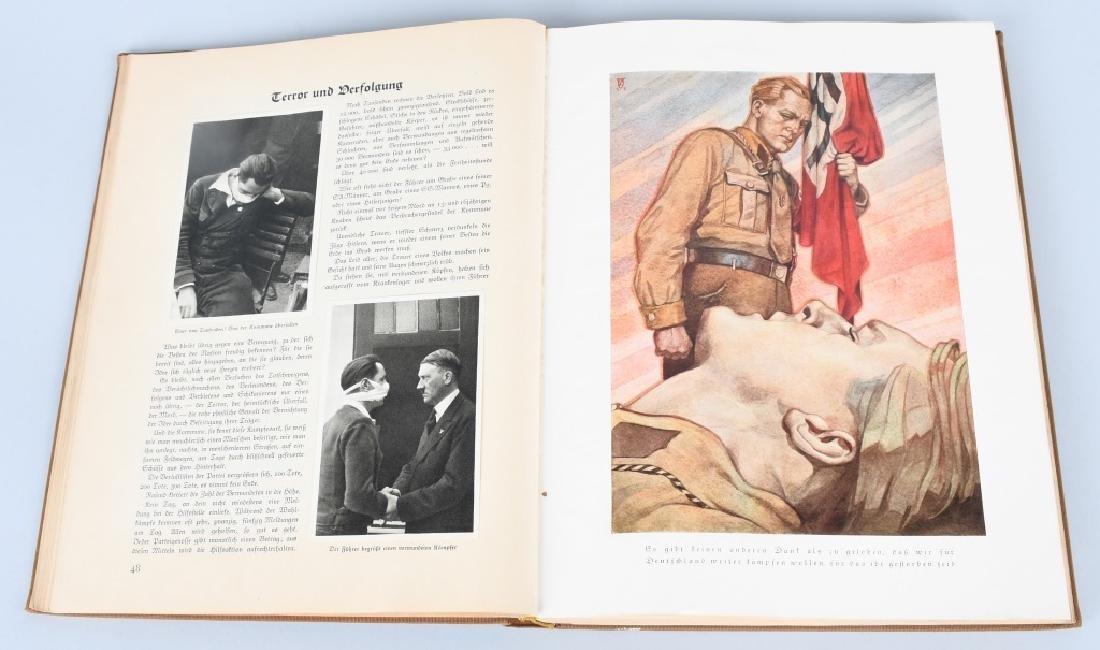 WWII NAZI CIGARETTE ALBUM DEUTSCHLAND ERWACHT - 6
