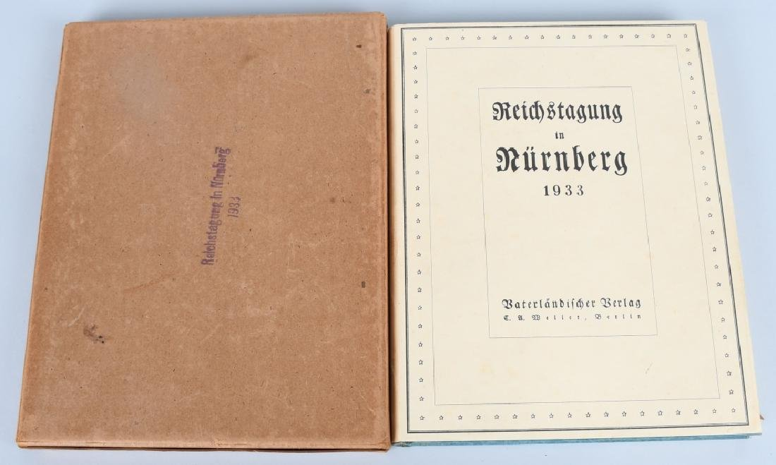 WWII NAZI GERMAN BOOK REICHSTAGUNG IN NURNBERG '33