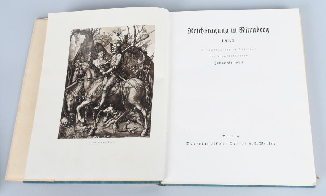 WWII NAZI GERMAN BOOK REICHSTAGUNG IN NURNBERG '33 - 2