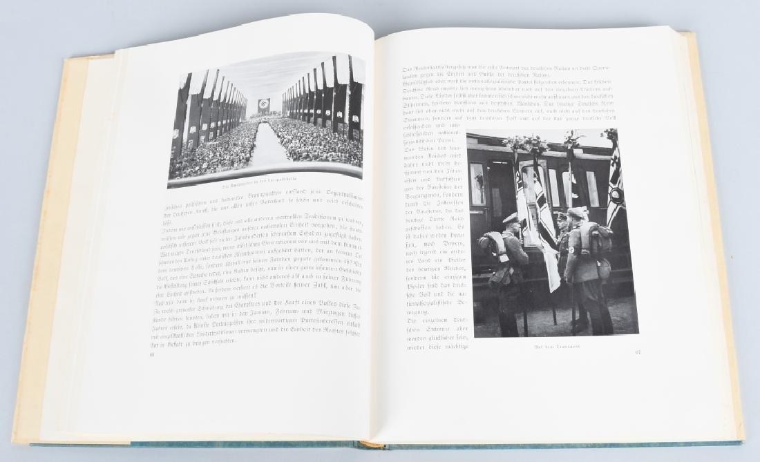 WWII NAZI GERMAN BOOK REICHSTAGUNG IN NURNBERG '33 - 5