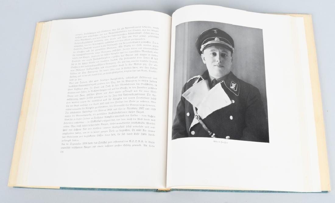 WWII NAZI GERMAN BOOK REICHSTAGUNG IN NURNBERG '33 - 9