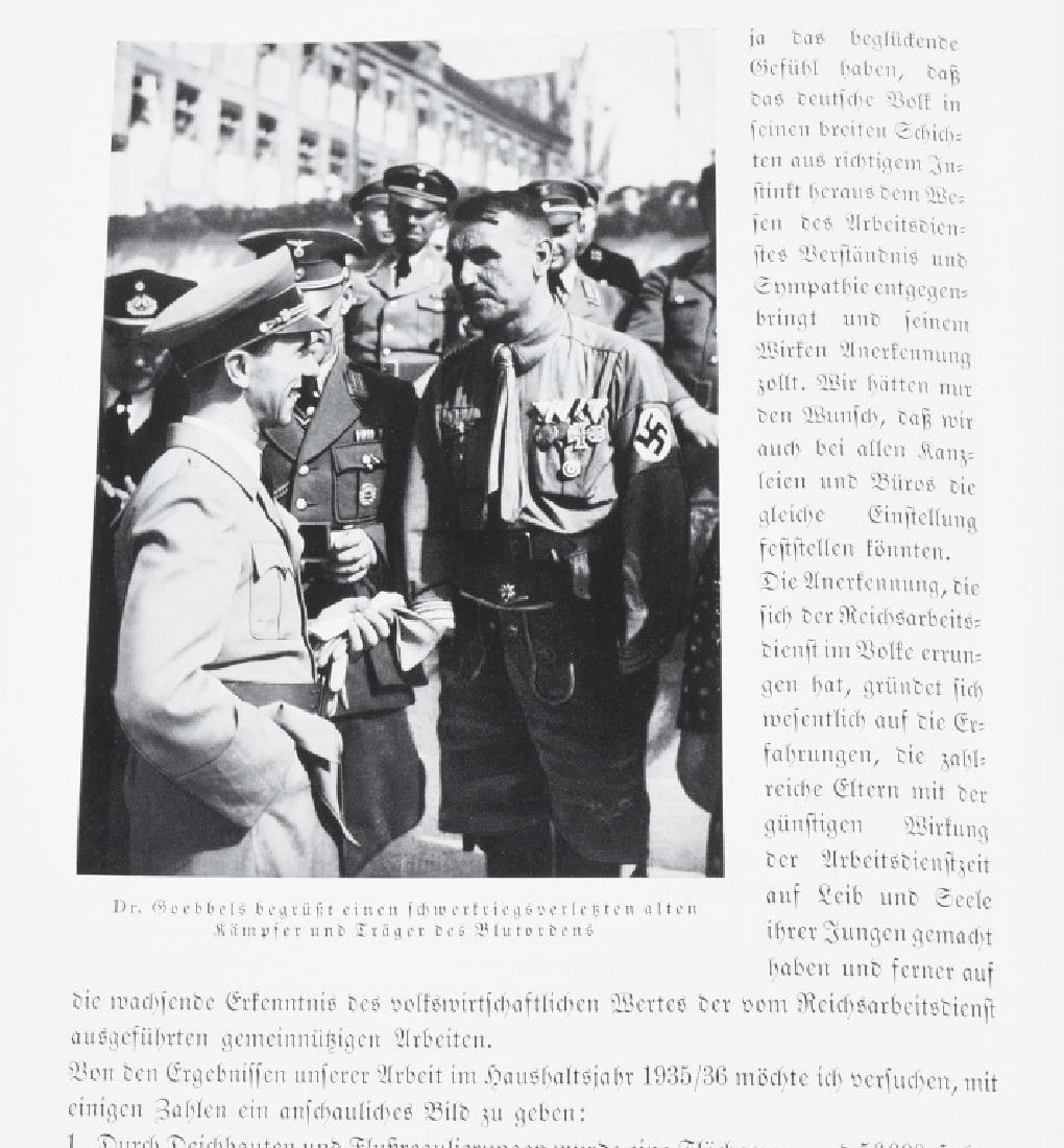 WWII NAZI GERMAN BOOK REICHSTAGUNG IN NURNBERG '36 - 10