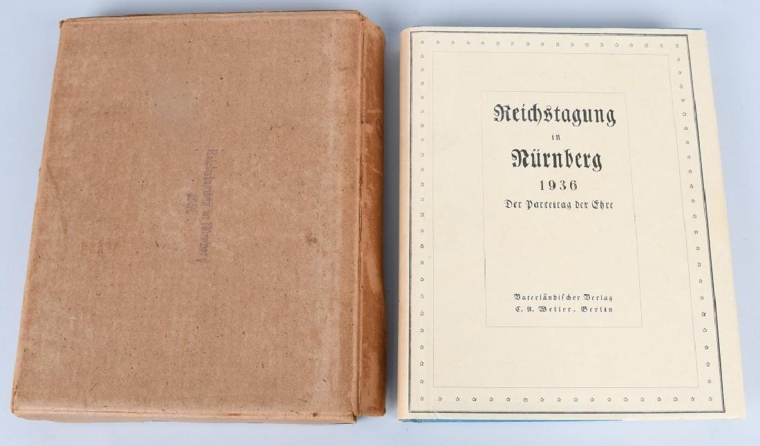 WWII NAZI GERMAN BOOK REICHSTAGUNG IN NURNBERG '36