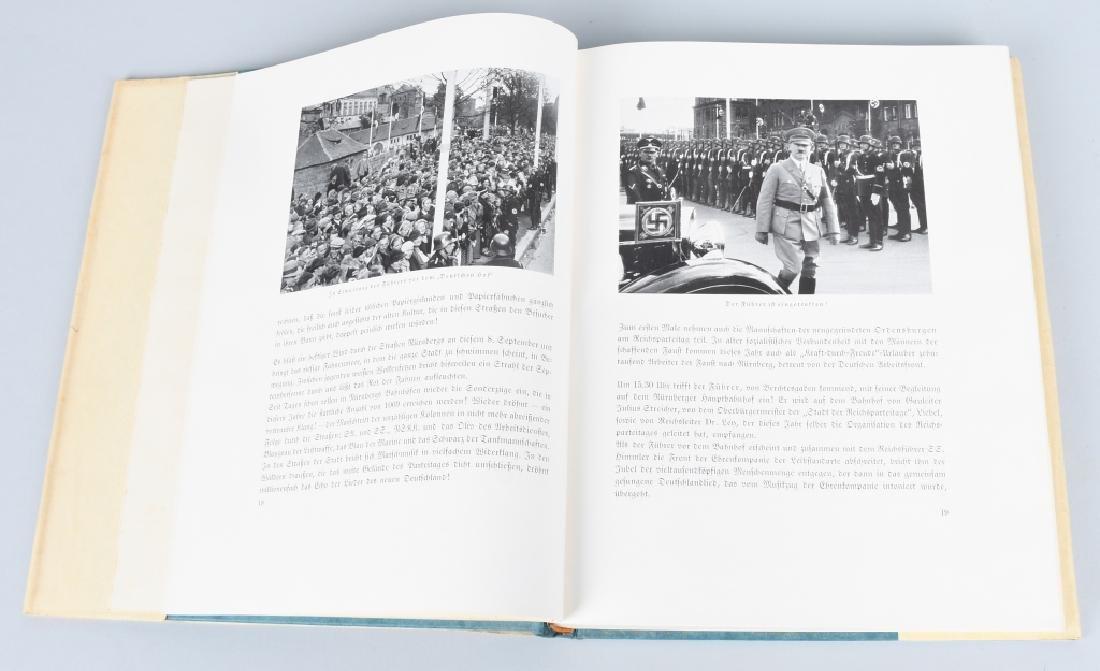 WWII NAZI GERMAN BOOK REICHSTAGUNG IN NURNBERG '36 - 3