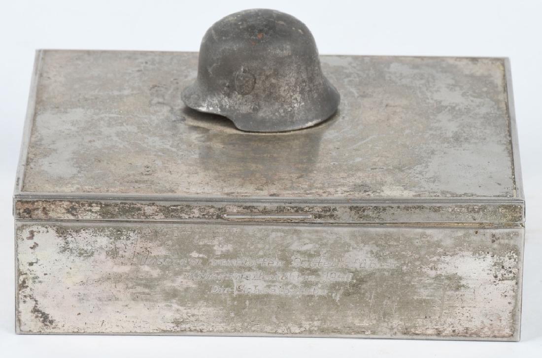 WWII NAZI GERMAN 1940 PRESENTATION CIGAR CASE