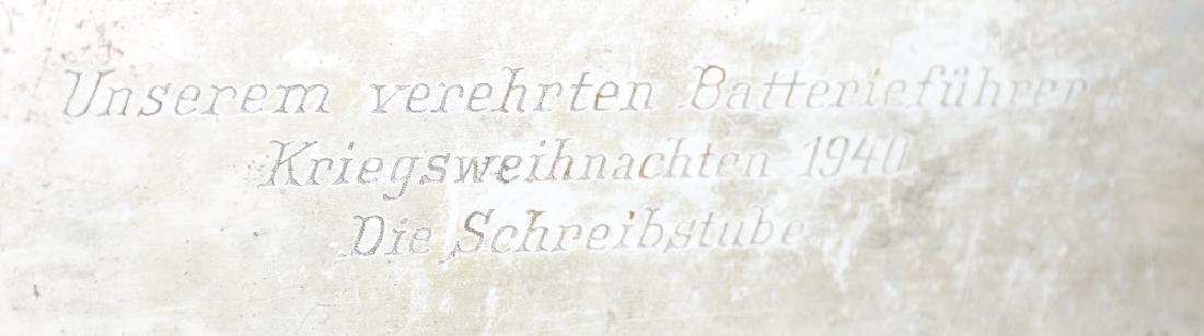 WWII NAZI GERMAN 1940 PRESENTATION CIGAR CASE - 2
