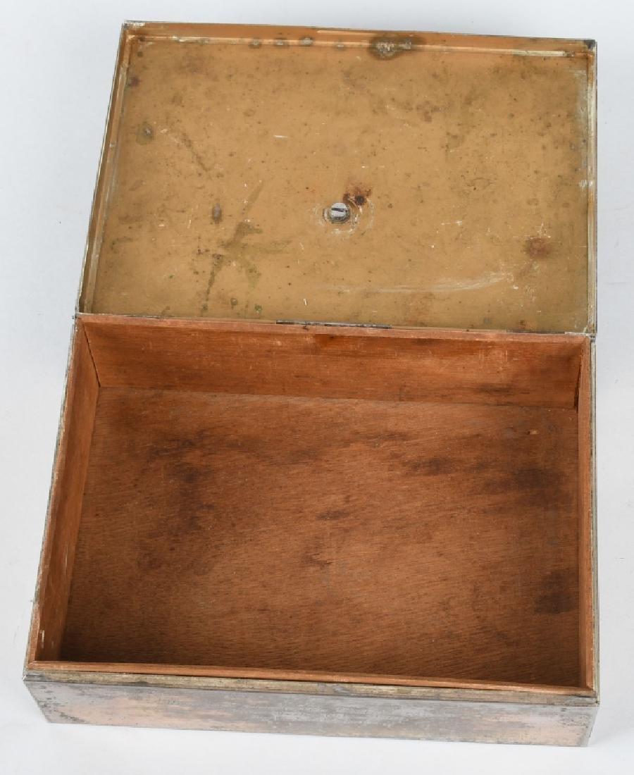 WWII NAZI GERMAN 1940 PRESENTATION CIGAR CASE - 3