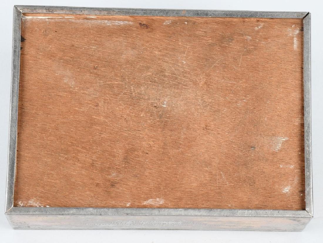 WWII NAZI GERMAN 1940 PRESENTATION CIGAR CASE - 5