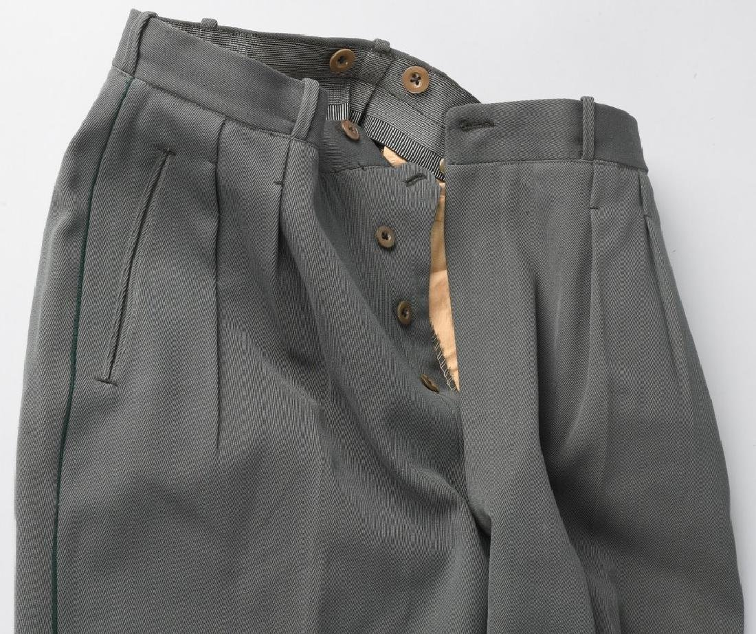 WWII NAZI GERMAN OFFICER'S PANTS - 2