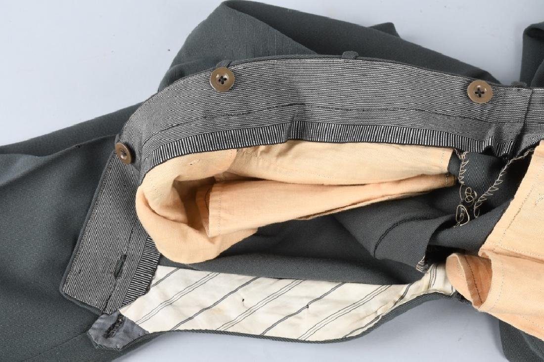 WWII NAZI GERMAN OFFICER'S PANTS - 4