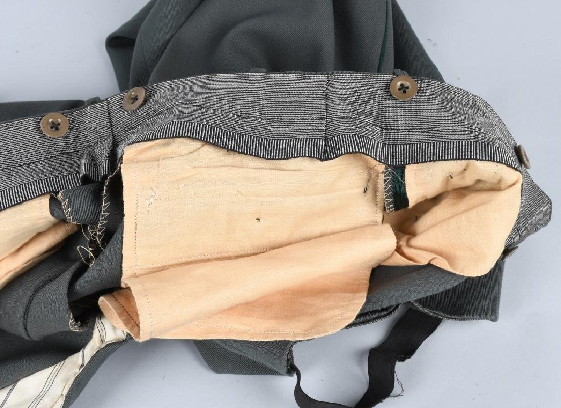 WWII NAZI GERMAN OFFICER'S PANTS - 5