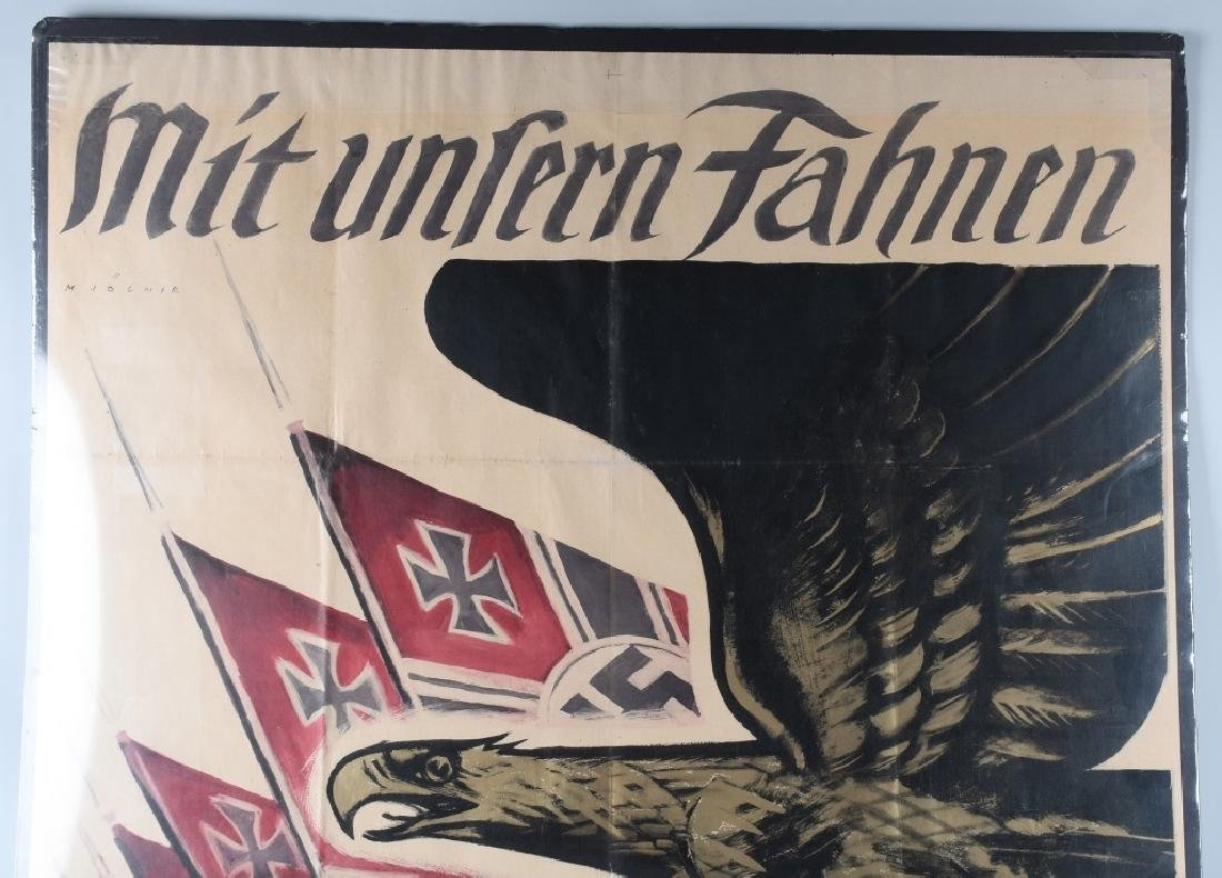 WWII NAZI GERMAN POSTER BY M JOLNER - 2