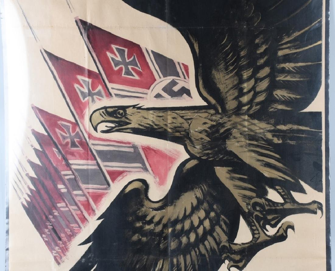 WWII NAZI GERMAN POSTER BY M JOLNER - 3