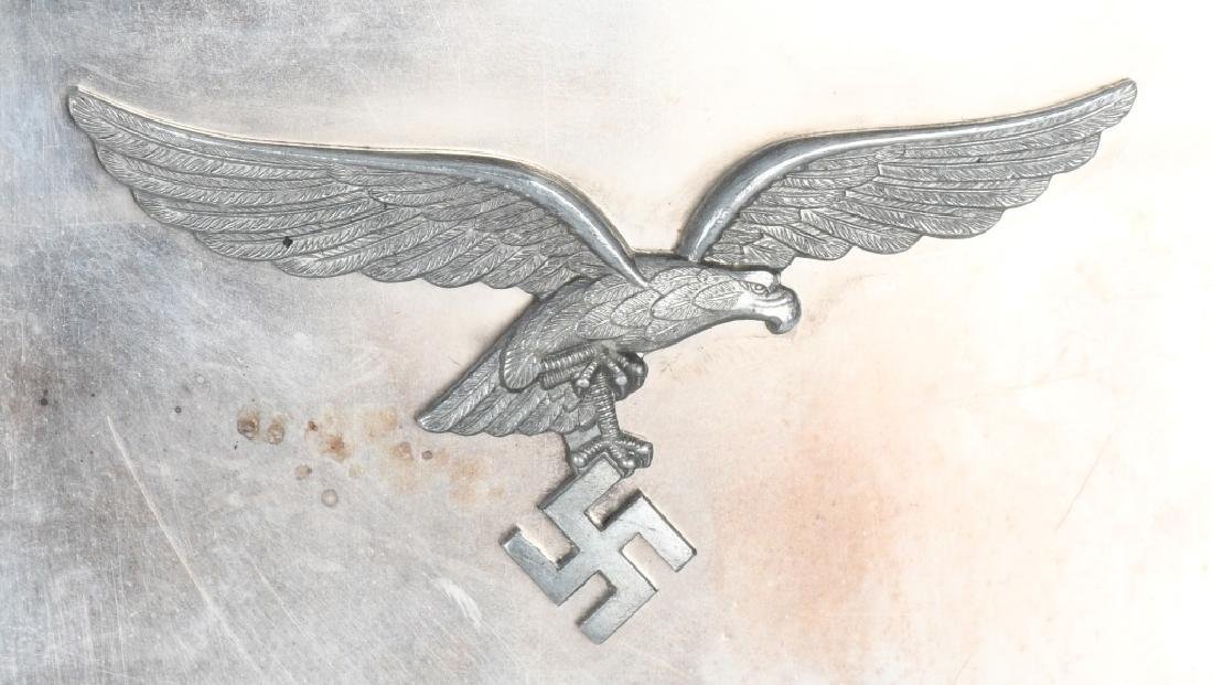 WWII NAZI GERMAN LUFTWAFFE NAMED PLAQUE - 2