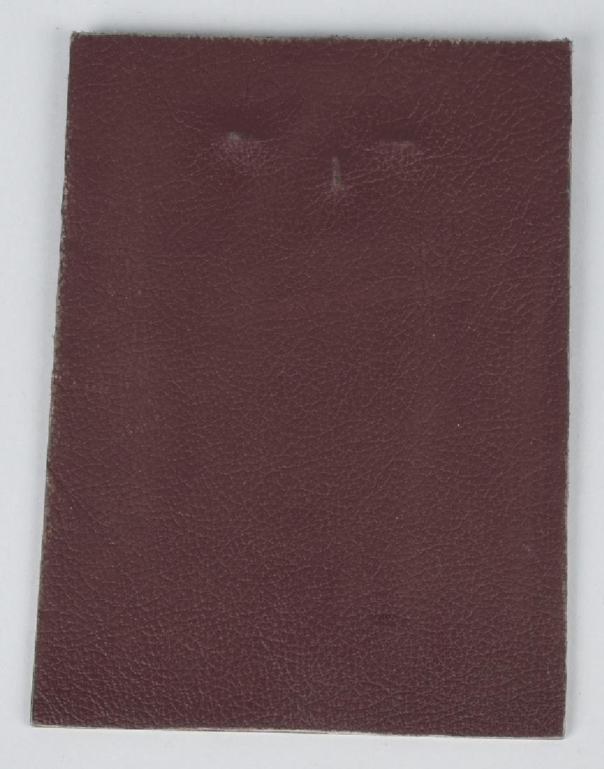 WWII NAZI GERMAN LUFTWAFFE NAMED PLAQUE - 4