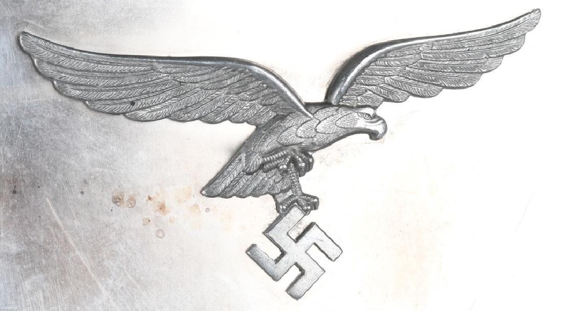 WWII NAZI GERMAN LUFTWAFFE NAMED PLAQUE - 5