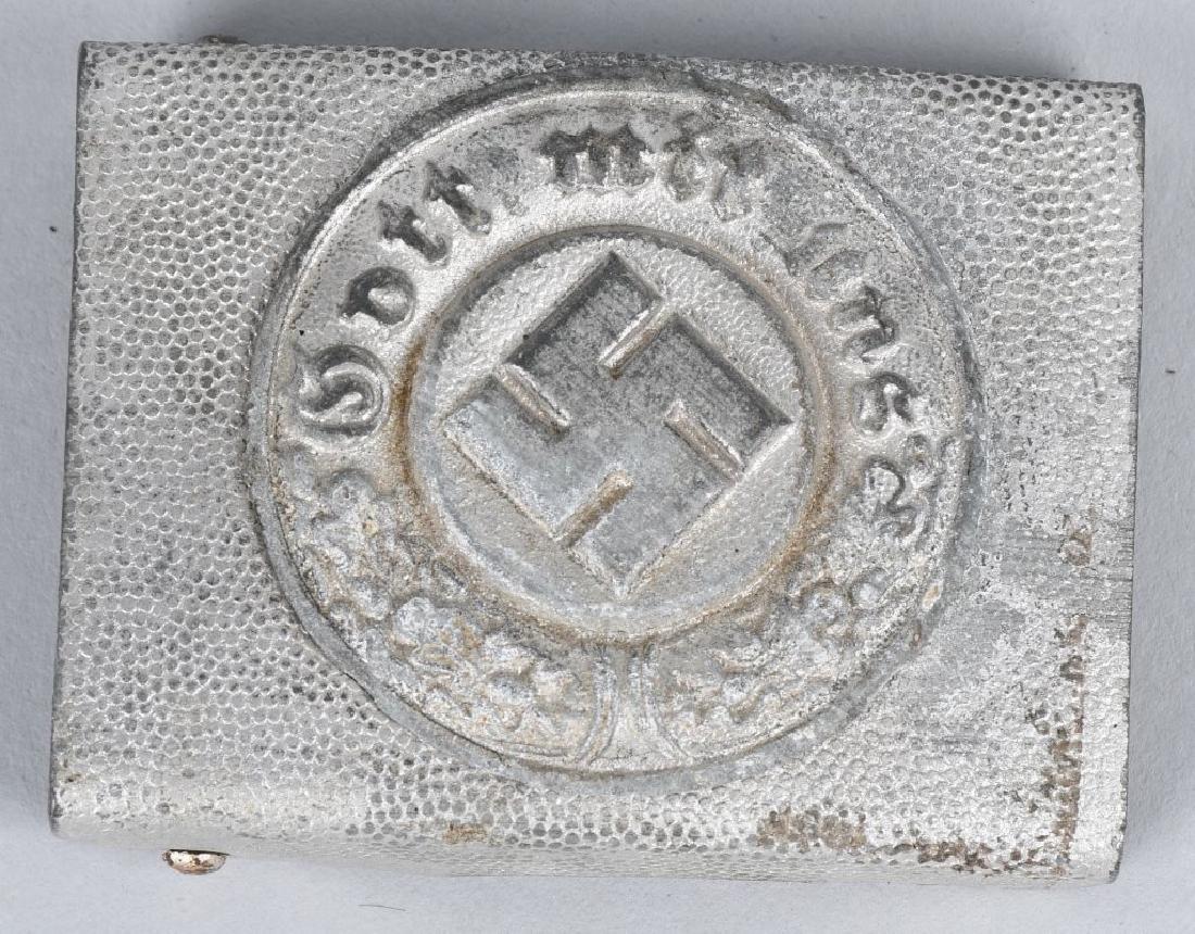 WWII NAZI GERMAN BUCKLE & MEDAL LOT - 2