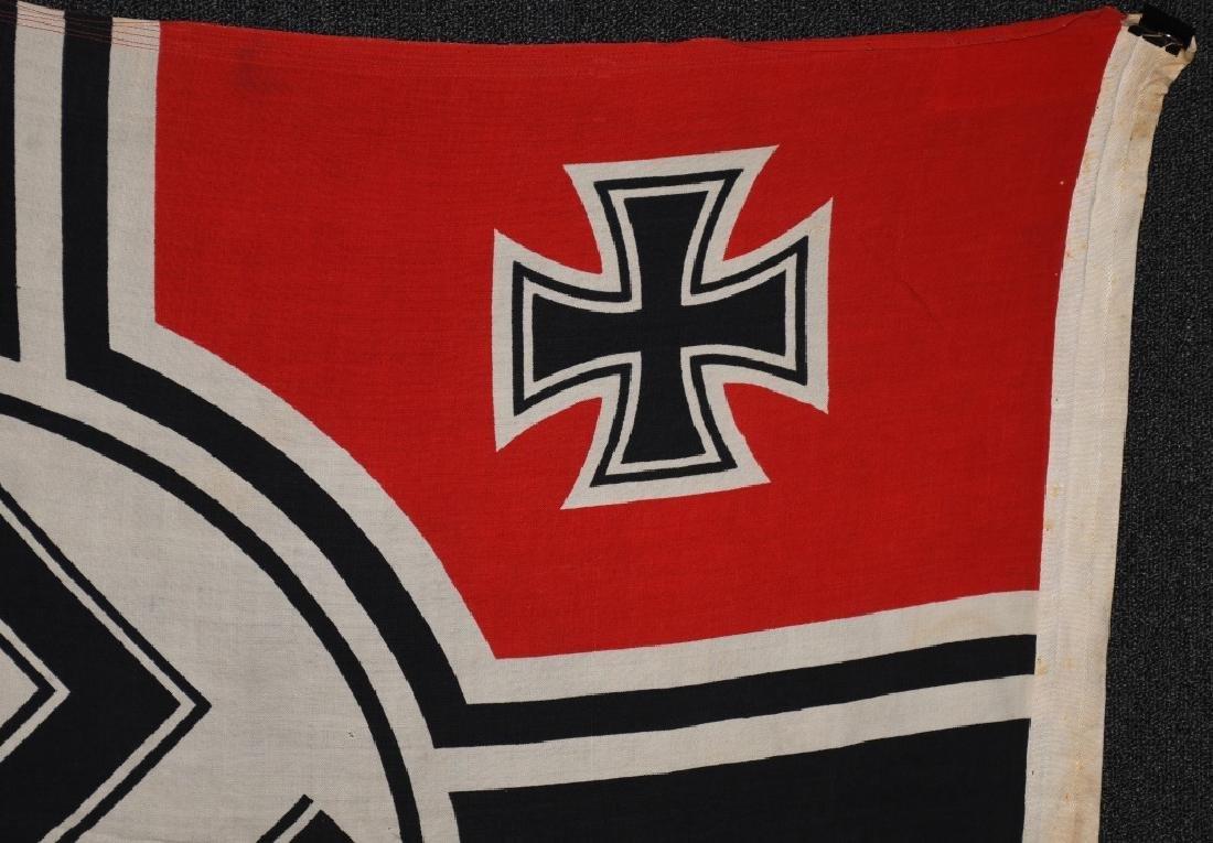 WWII NAZI GERMAN KRIEGSMARINE DUTCH MADE FLAG - 10