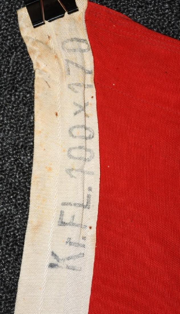 WWII NAZI GERMAN KRIEGSMARINE DUTCH MADE FLAG - 3