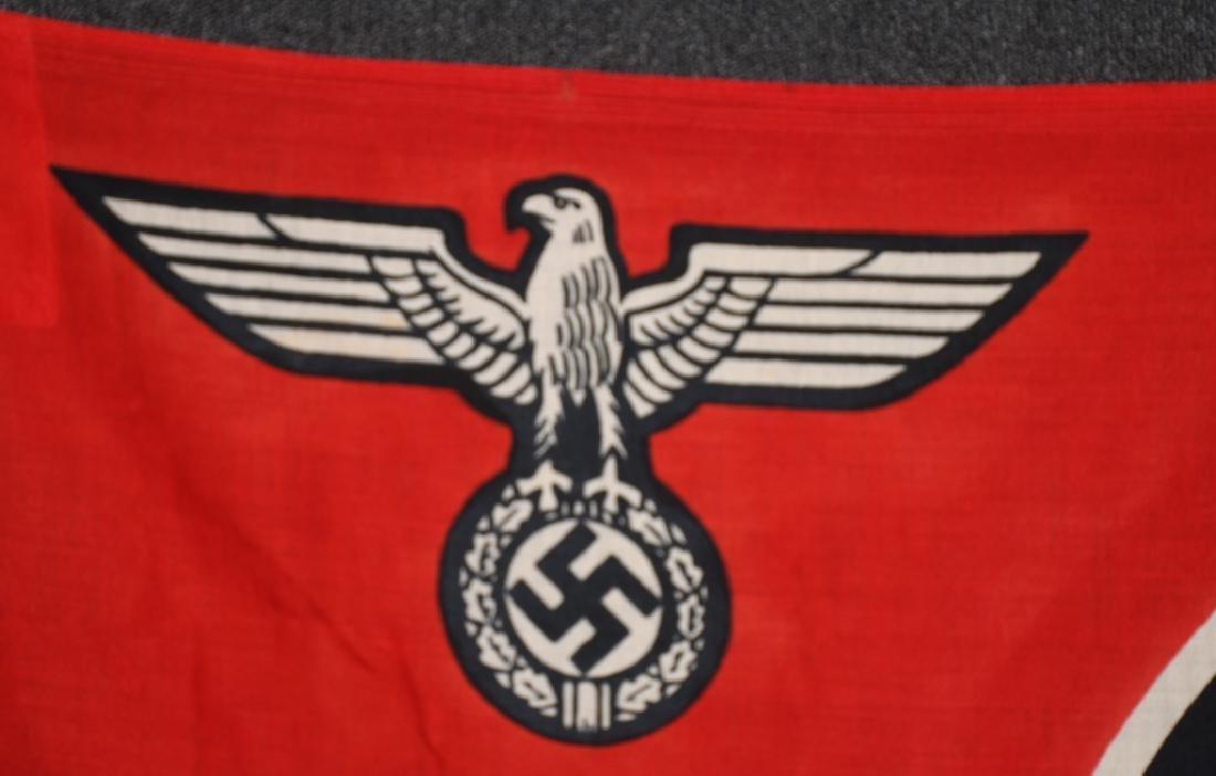 WWII NAZI GERMAN STATE FLAG & ENSIGN REICHDIENSTE - 2