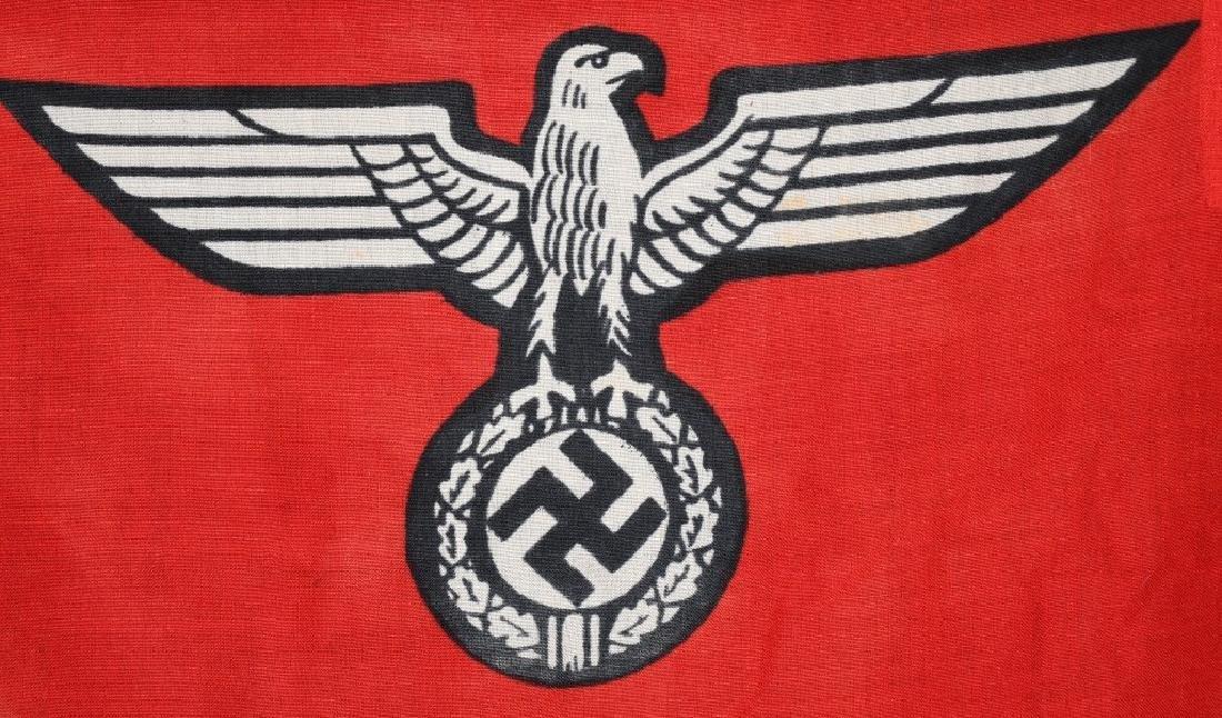 WWII NAZI GERMAN STATE FLAG & ENSIGN REICHDIENSTE - 7