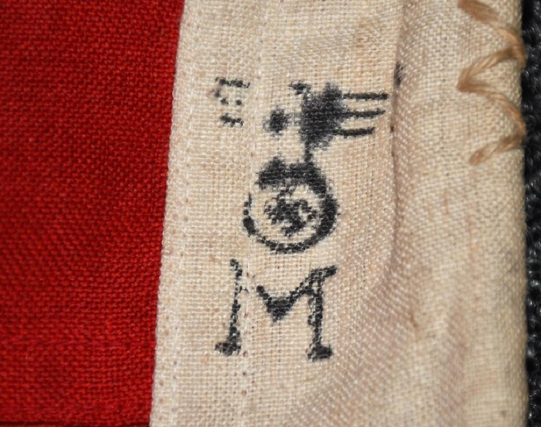 WWII NAZI GERMAN KRIEGSMARINE FLAG - 9