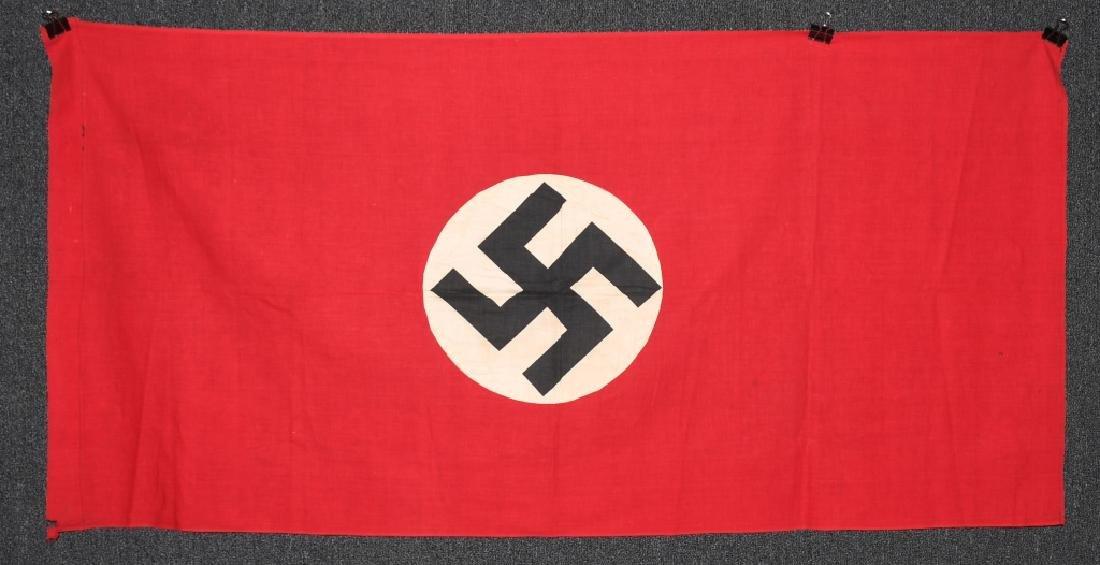 WWII NAZI GERMAN NSDAP FLAG - BANNER