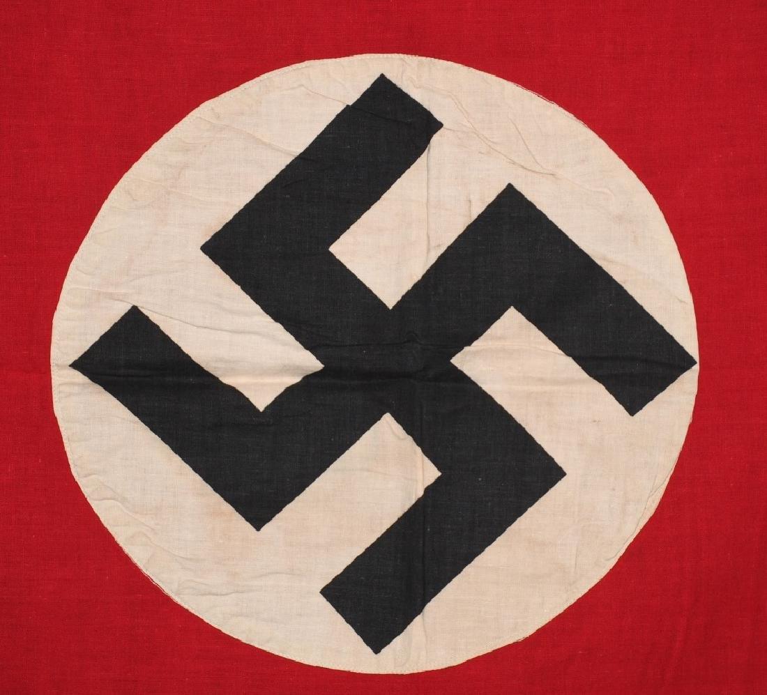 WWII NAZI GERMAN NSDAP FLAG - BANNER - 2