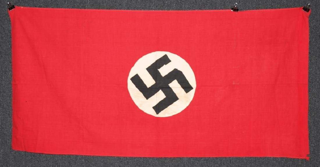 WWII NAZI GERMAN NSDAP FLAG - BANNER - 5