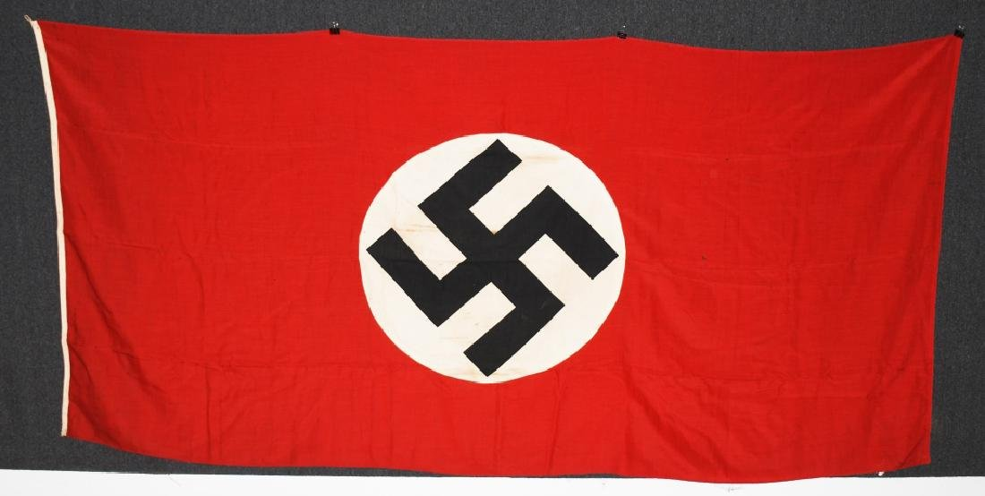 WWII NAZI GERMAN NSDAP FLAG - LARGE