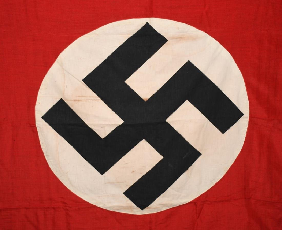 WWII NAZI GERMAN NSDAP FLAG - LARGE - 2