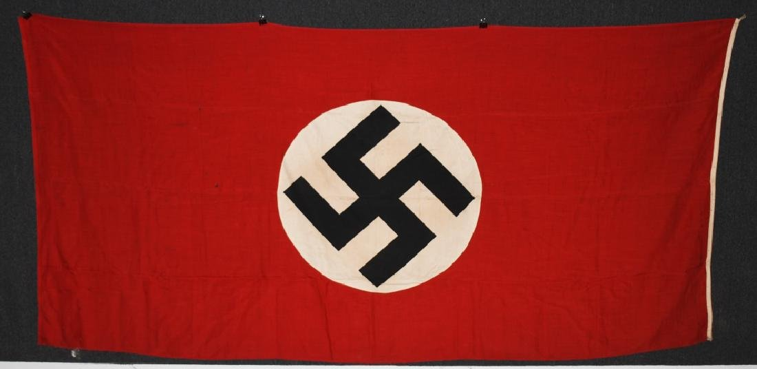 WWII NAZI GERMAN NSDAP FLAG - LARGE - 6