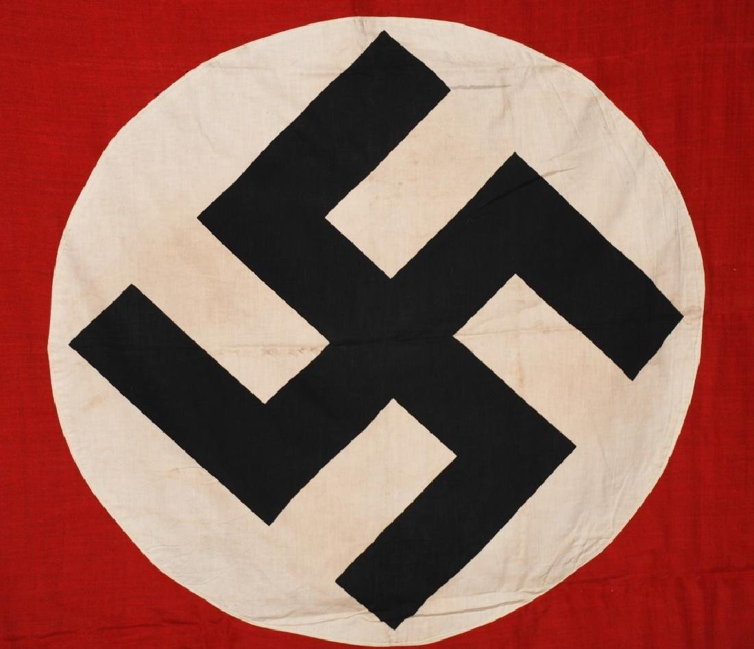 WWII NAZI GERMAN NSDAP FLAG - LARGE - 7