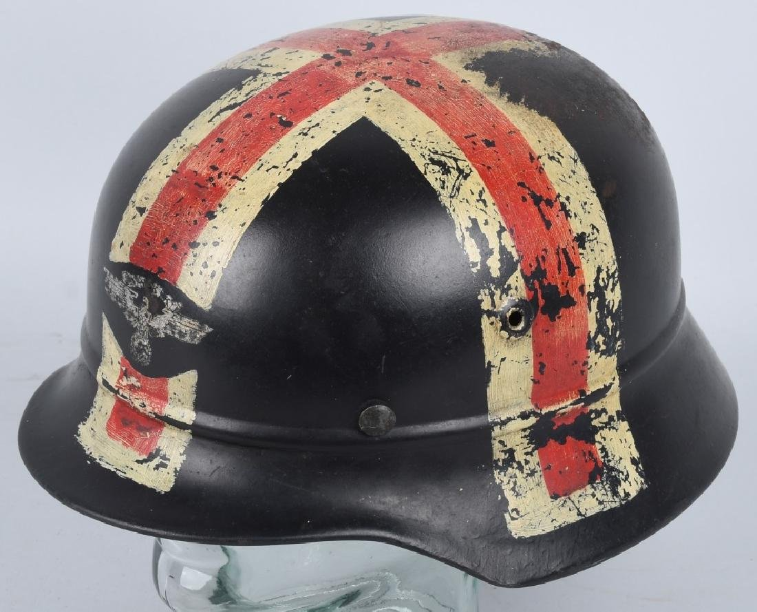 WWII NAZI GERMAN NSKK RED CROSS HELMET