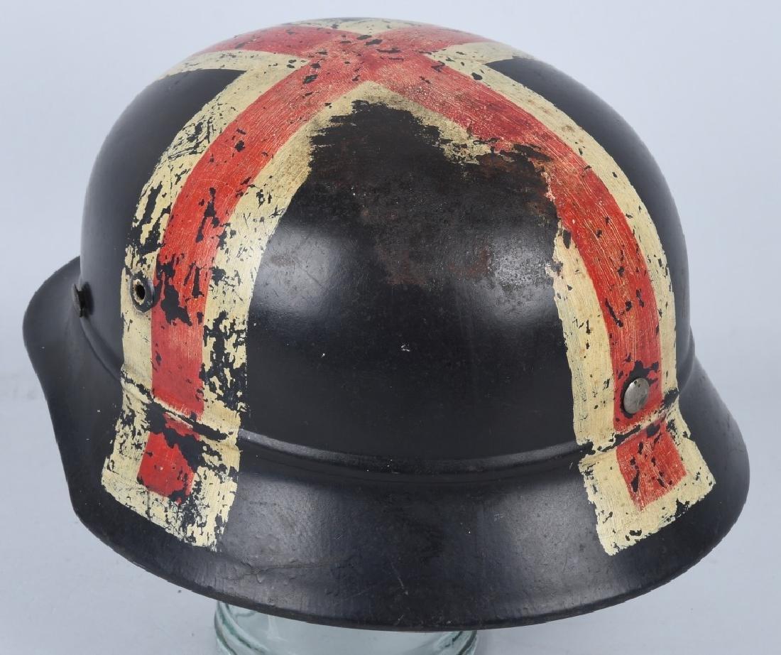 WWII NAZI GERMAN NSKK RED CROSS HELMET - 3