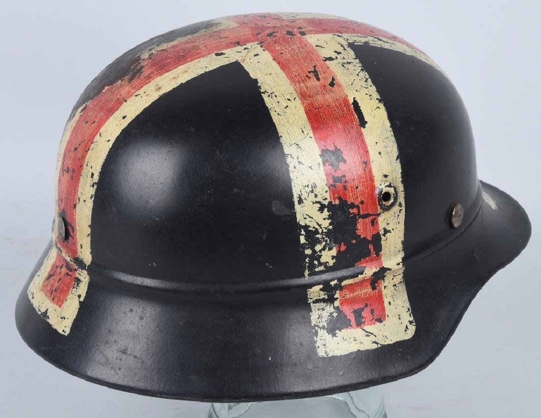WWII NAZI GERMAN NSKK RED CROSS HELMET - 4