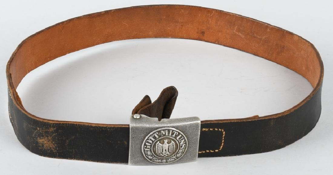 WWII NAZI GERMAN ARMY BELT AND BUCKLE