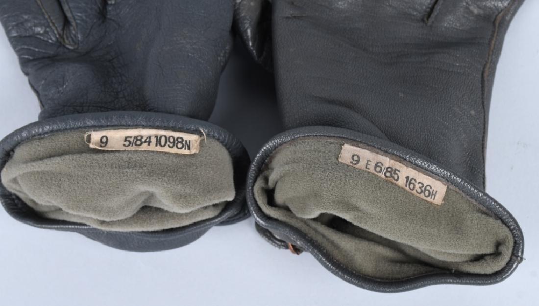 WWII NAZI GERMAN LUFTWAFFE PILOT GLOVES - 4