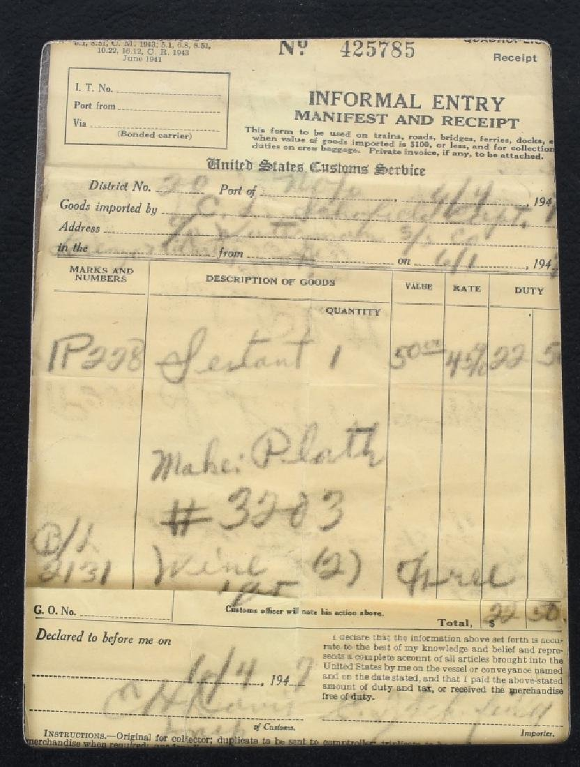 WWII GERMAN LIBELLEN SEXTANT - U.S. BRING BACK - 7