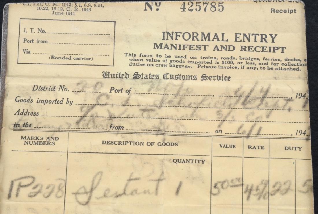 WWII GERMAN LIBELLEN SEXTANT - U.S. BRING BACK - 8