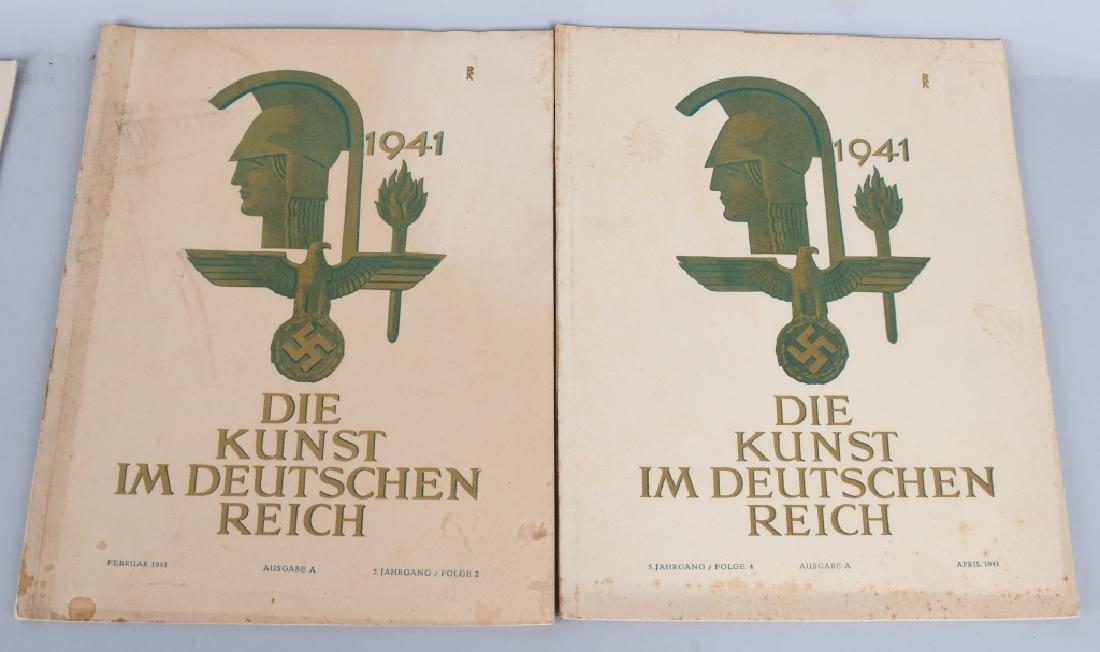 WWII NAZI 1940-41 DIE KUNST IM DEUTSCHEN REICH -12 - 2
