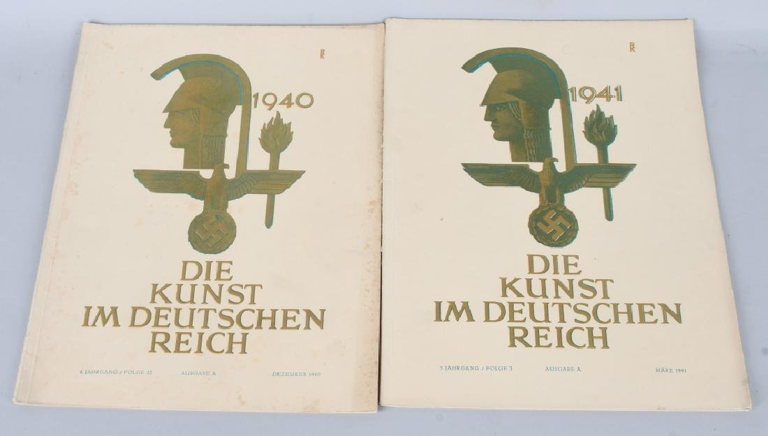 WWII NAZI 1940-41 DIE KUNST IM DEUTSCHEN REICH -12 - 4